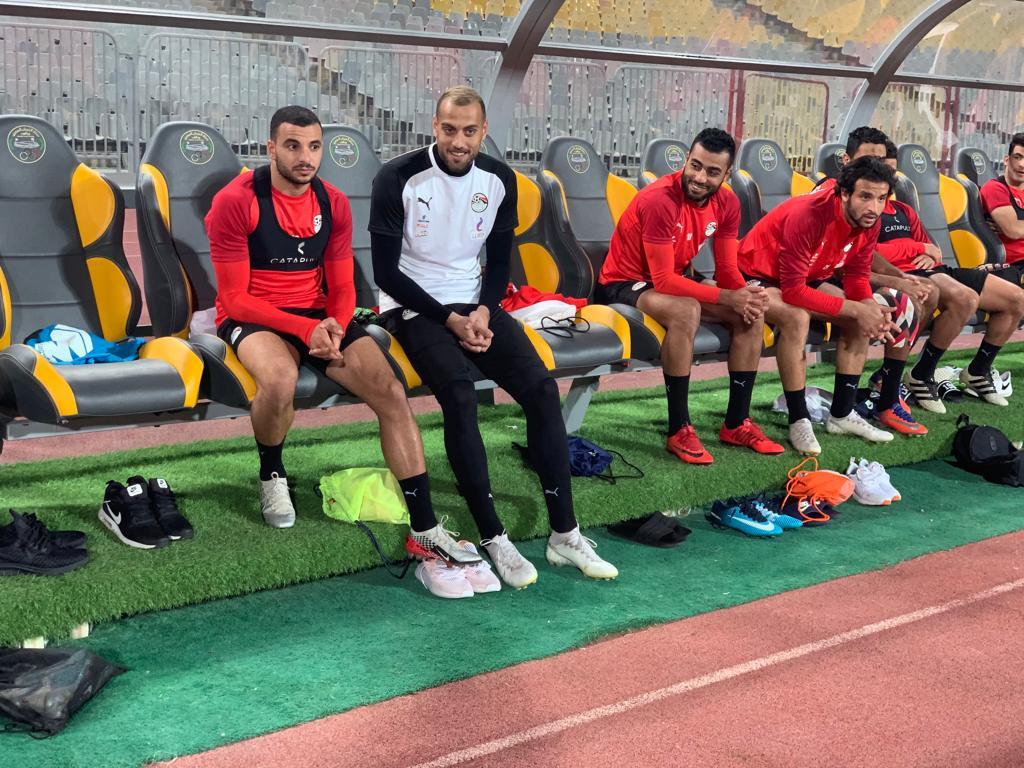 تدريب المنتخب المصرى  (7)