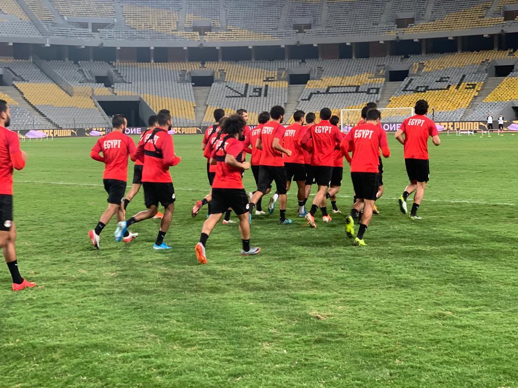 تدريب المنتخب المصرى  (11)