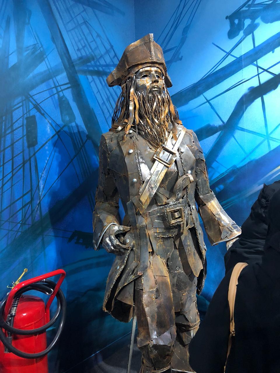 مجسم لـ جاك سبارو