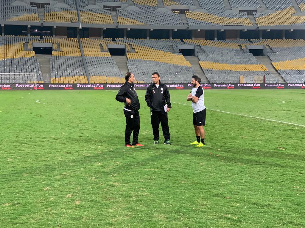 تدريب المنتخب المصرى  (5)