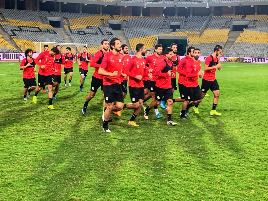 تدريب المنتخب المصرى  (10)