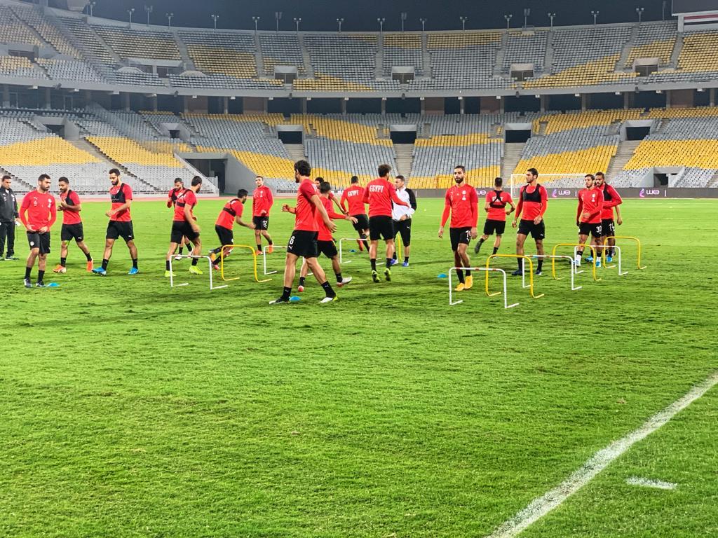 تدريب المنتخب المصرى  (1)