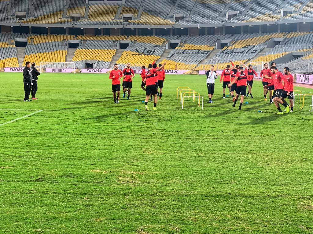 تدريب المنتخب المصرى  (12)