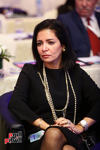 منصة جلسة الاستثمار بقمة مصر الاقتصادية  (15)