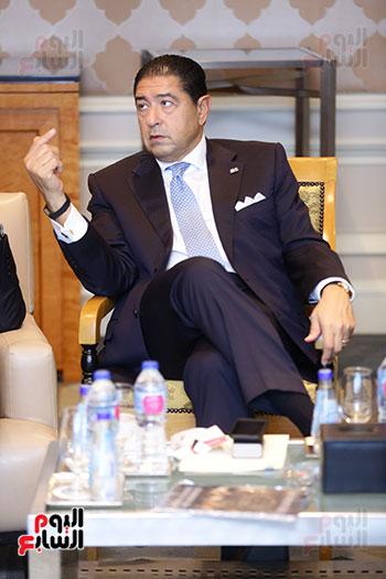 هشام عز العرب رئيس البنك التجارى الدولى