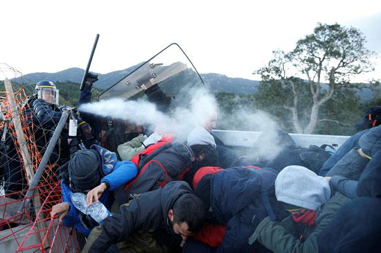 المحتجون-الأسبان-أغلقوا-طريقا-دوليا-بين-فرنسا-وأسبانيا