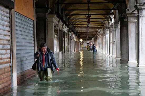 المياه أغرقت المحلات