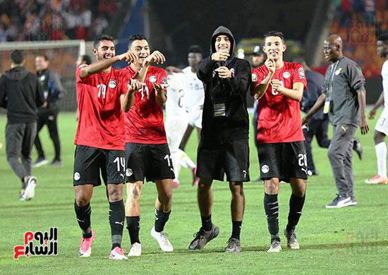 دعم اللاعبين لـ طاهر محمد طاهر