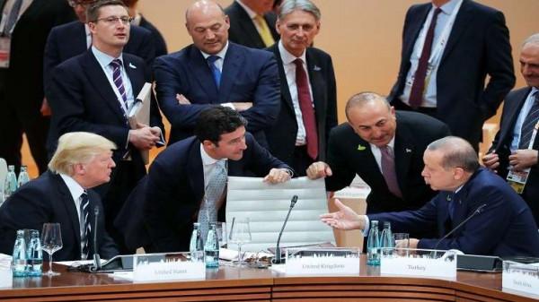 ترامب وأردوغان وعلاقة متوترة