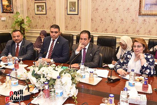 لقاء النائب علاء عابد رئيس لجنة حقوق الانسان (13)