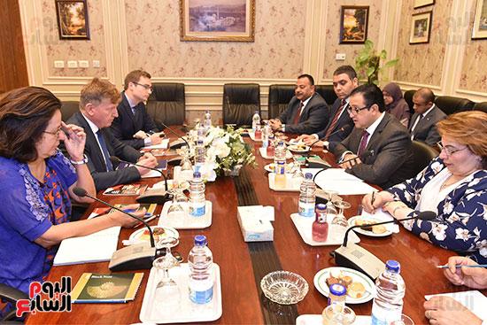 لقاء النائب علاء عابد رئيس لجنة حقوق الانسان (5)