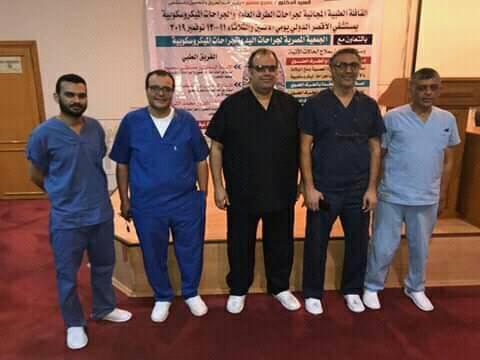 قافلة طبية مجانية بمستشفي الأقصر الدولي لجراحات الطرف العلوي تجري 32 جراحة (1)