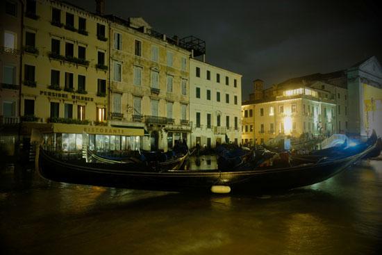 غرق الشوارع