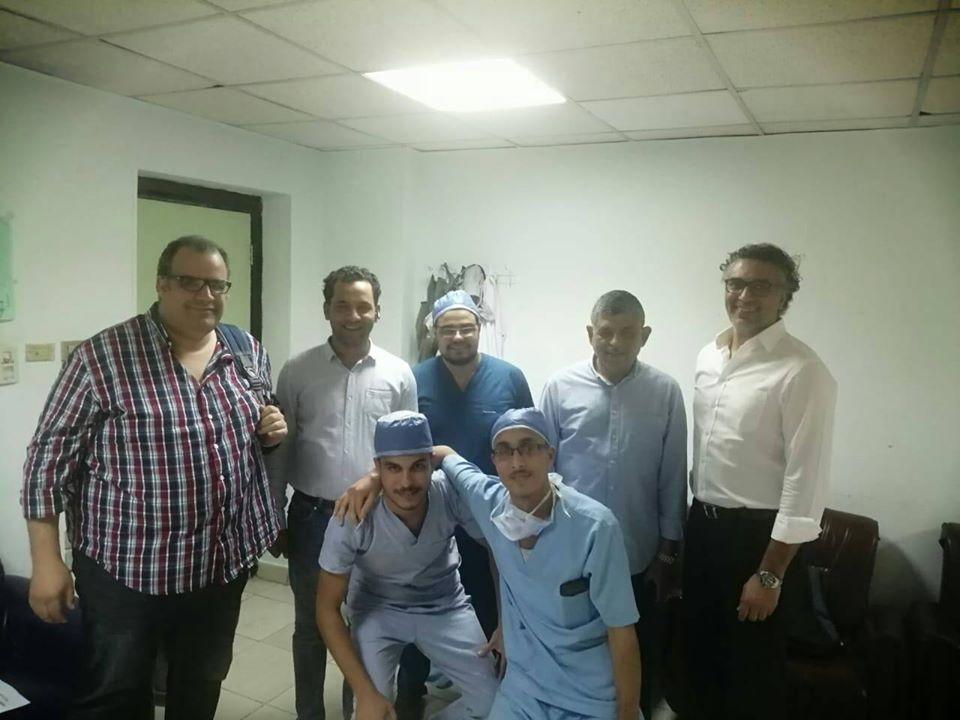 قافلة طبية مجانية بمستشفي الأقصر الدولي لجراحات الطرف العلوي تجري 32 جراحة (2)