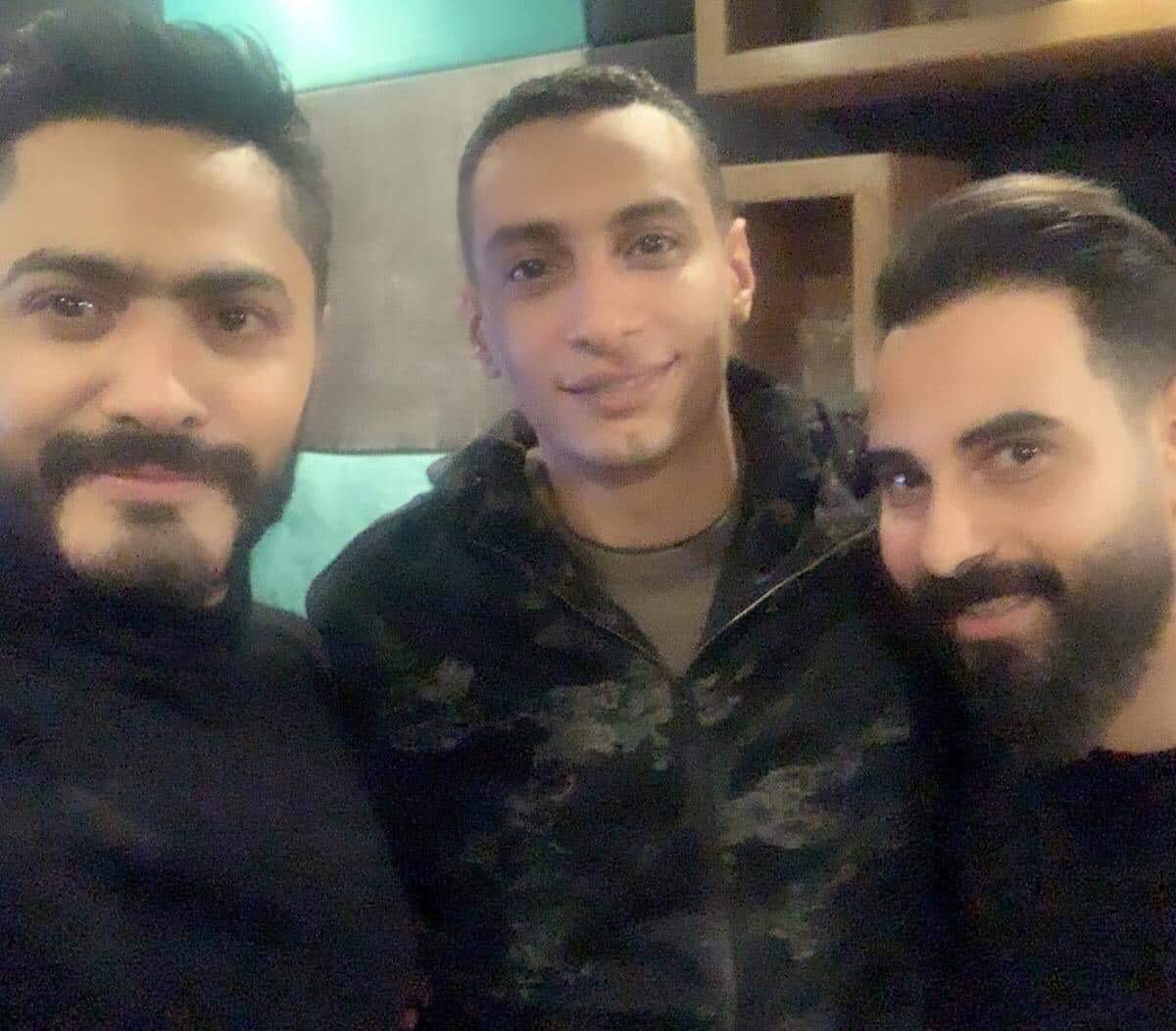 احمد عاطف و تامر حسني  (1)