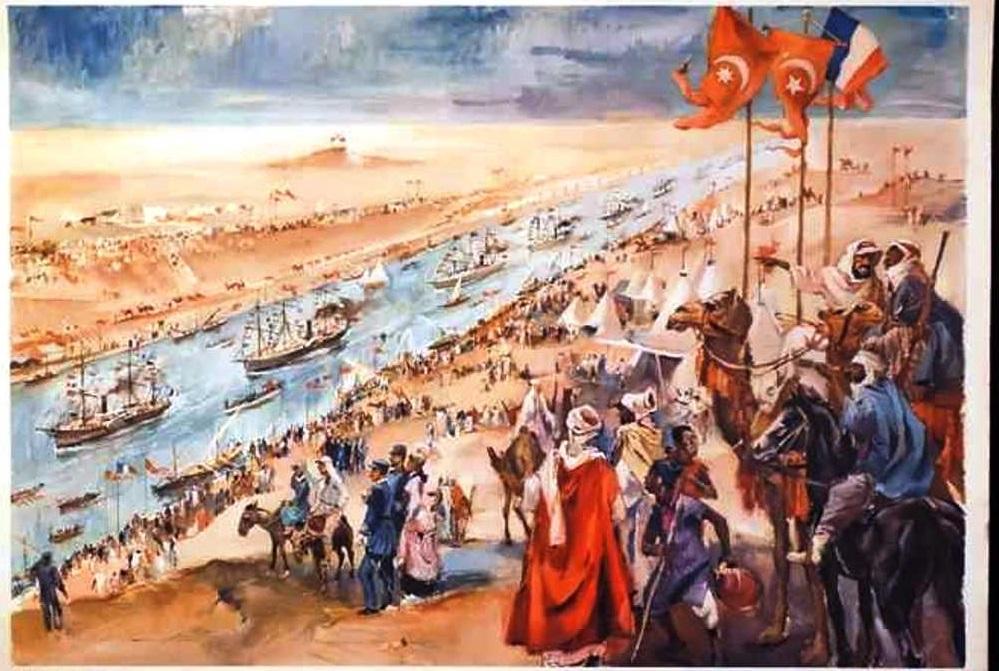 11- حفل إفتتاح قناة السويس عام 1869