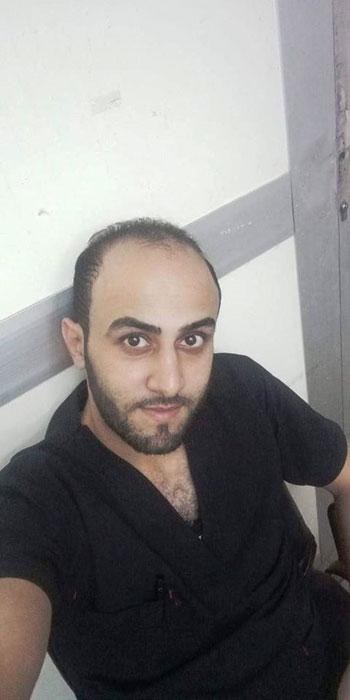 أحمد مبروك ضحية قطار الإسكندرية  (2)