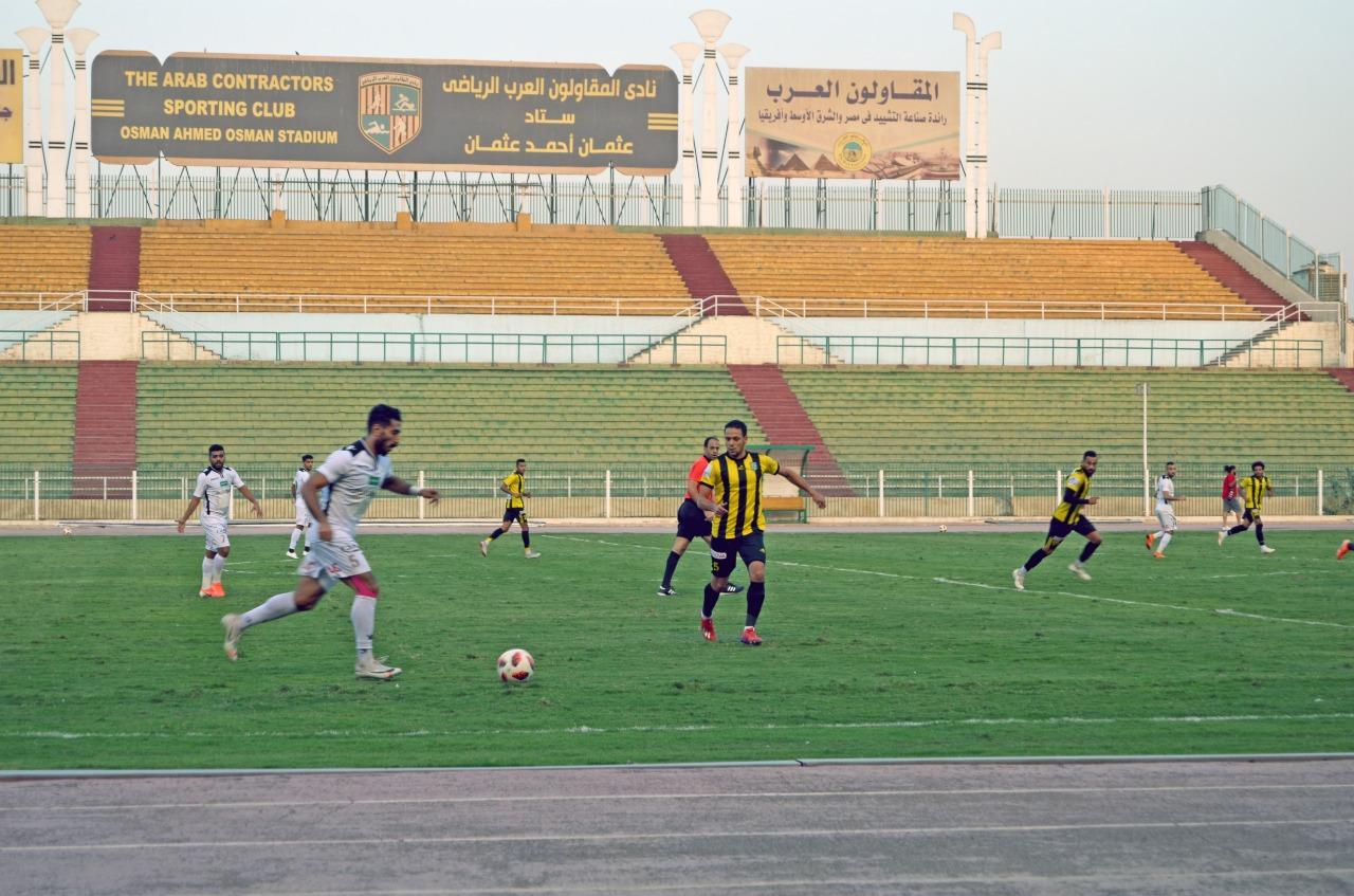 مباراة المقاولون العرب و طلائع الجيش  (1)