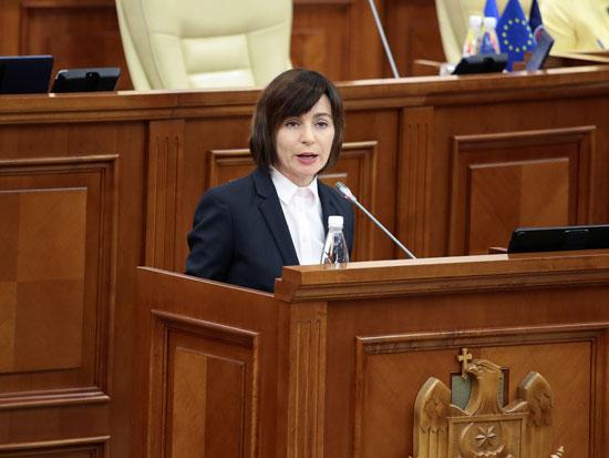 كلمة إحدى نائبات برلمان مولدوفا