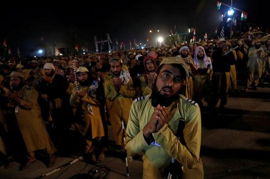 مظاهرة للمعارضة بباكستان
