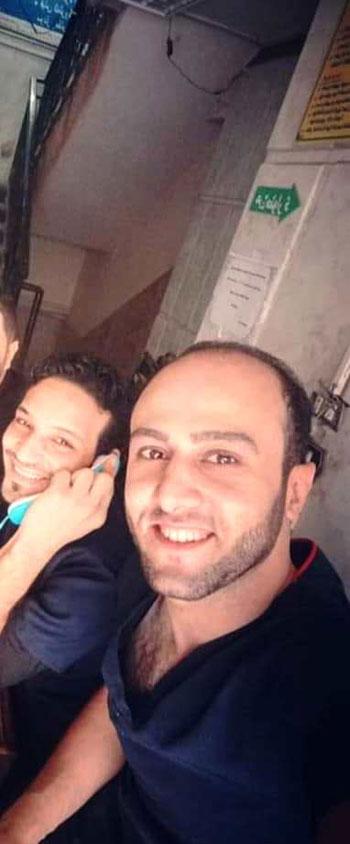 أحمد مبروك ضحية قطار الإسكندرية  (1)