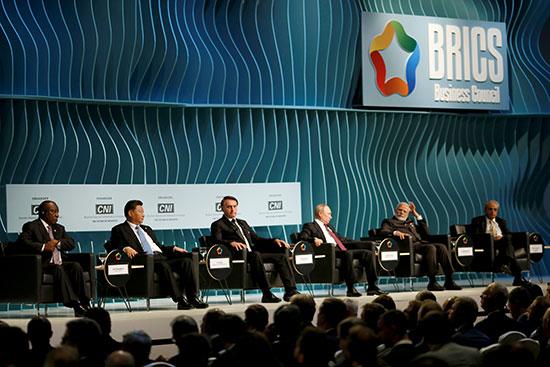 رؤساء الدول أعضاء البريكس