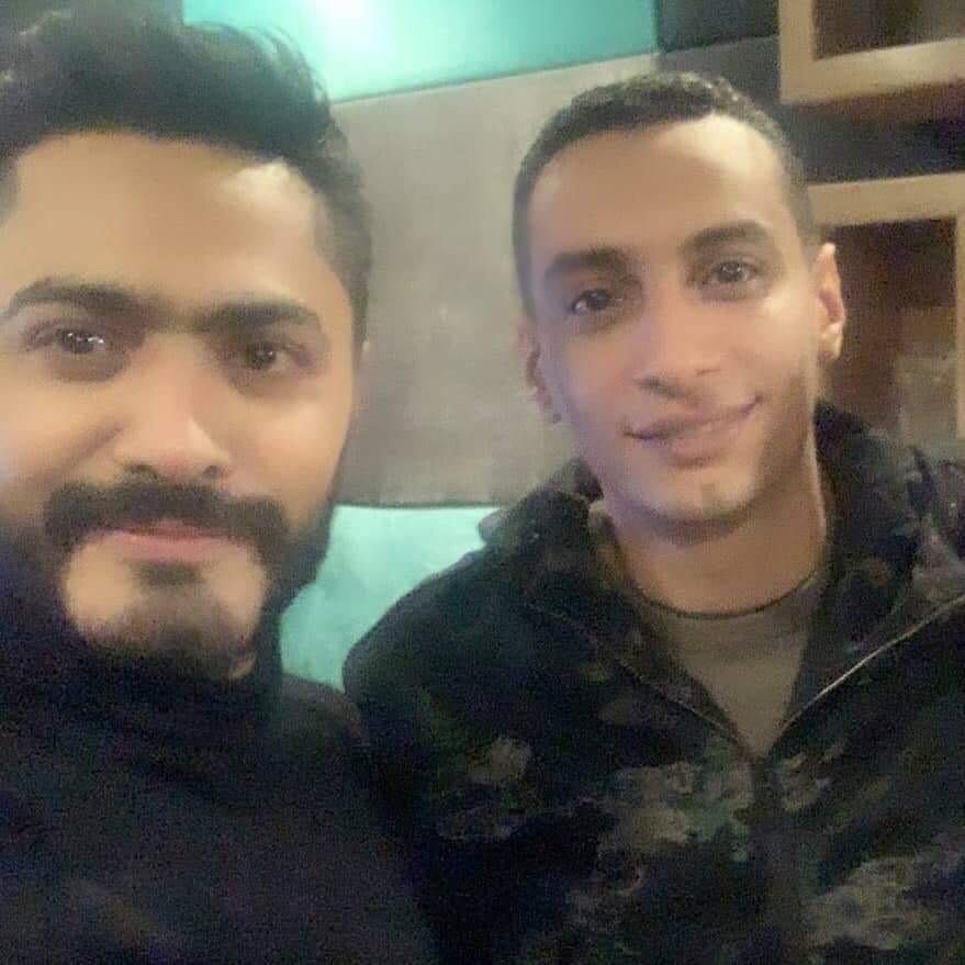 احمد عاطف و تامر حسني  (2)