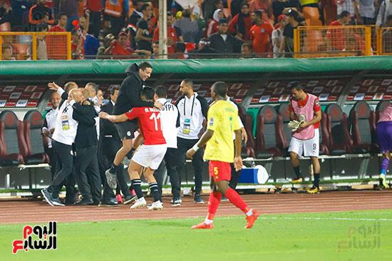 فرحة لاعبي مصر