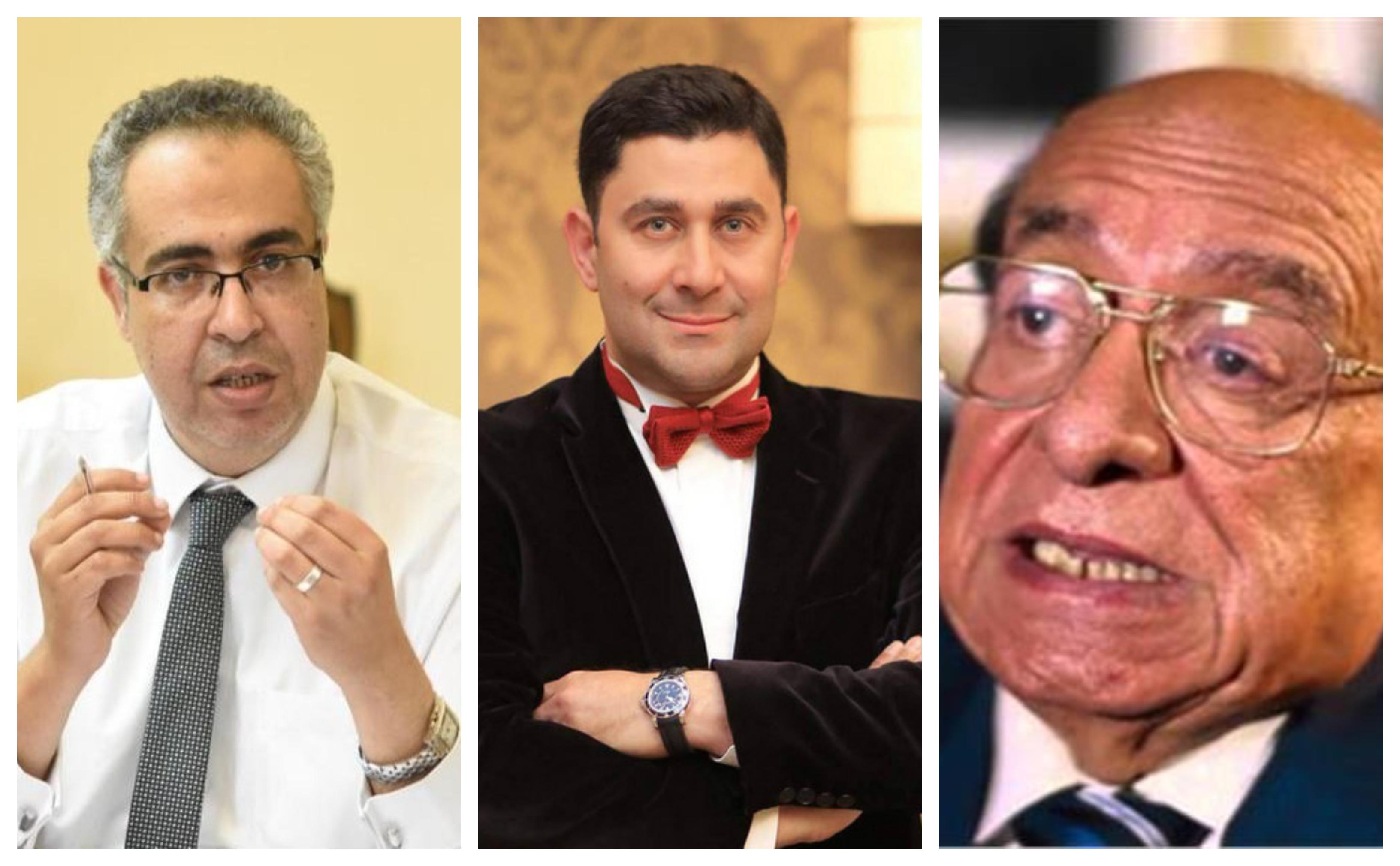 جلال الشرقاوي وأسماعيل مختار واحمد شاكر عبد اللطيف