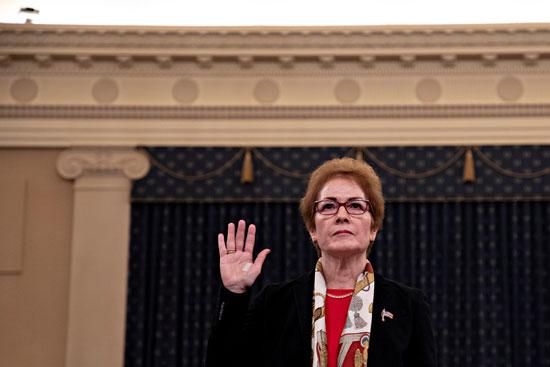 ماري يوفانوفيتش  سفيرة الولايات المتحدة السابقة لدى أوكرانيا