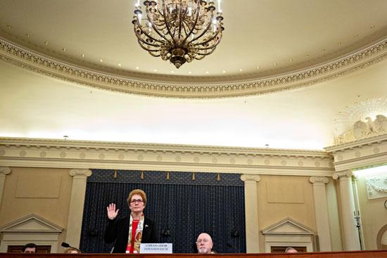 سفيرة الولايات المتحدة السابقة لدى أوكرانيا ماري يوفانوفيتش