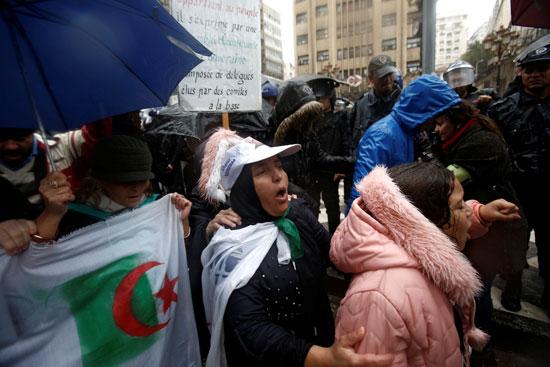 متظاهرات بالجزائر