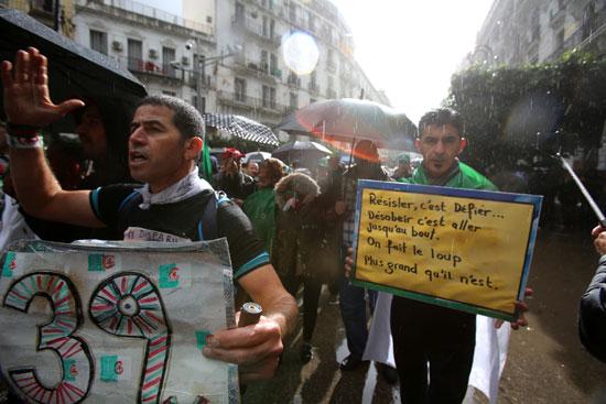 الاحتجاجات بالجزائر