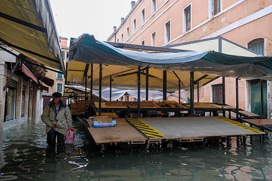 الفيضانات فى البندقية