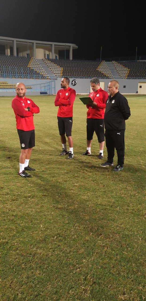 تدريب المنتخب الاولمبى  (9)