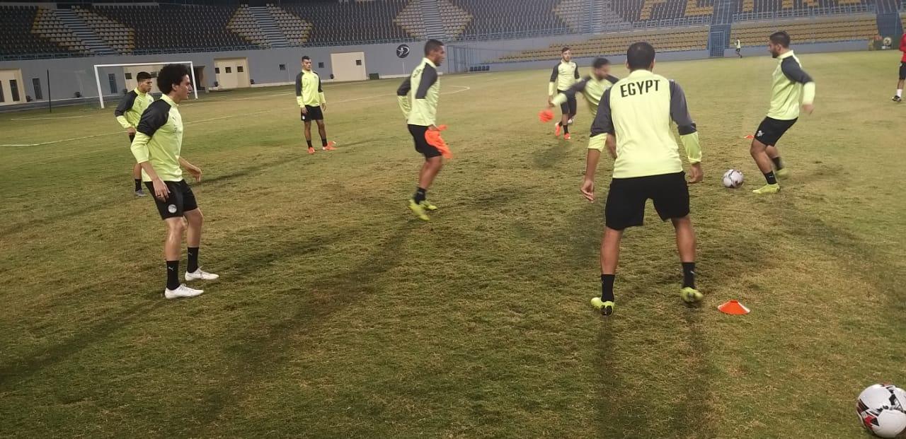 تدريب المنتخب الاولمبى  (1)