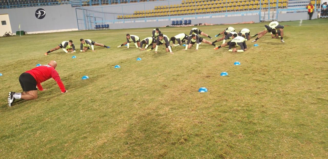 تدريب المنتخب الاولمبى  (2)
