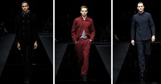 مجموعة الرجال في عرض أزياء جورجيو أرماني لما قبل الخريف 2020-21
