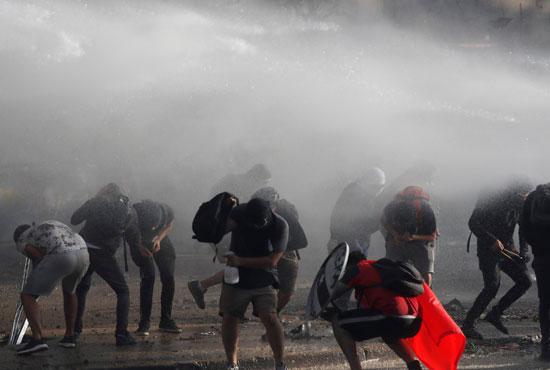 احتجاجات تشيلى