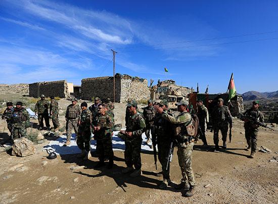 قوات-الامن-الافغانى