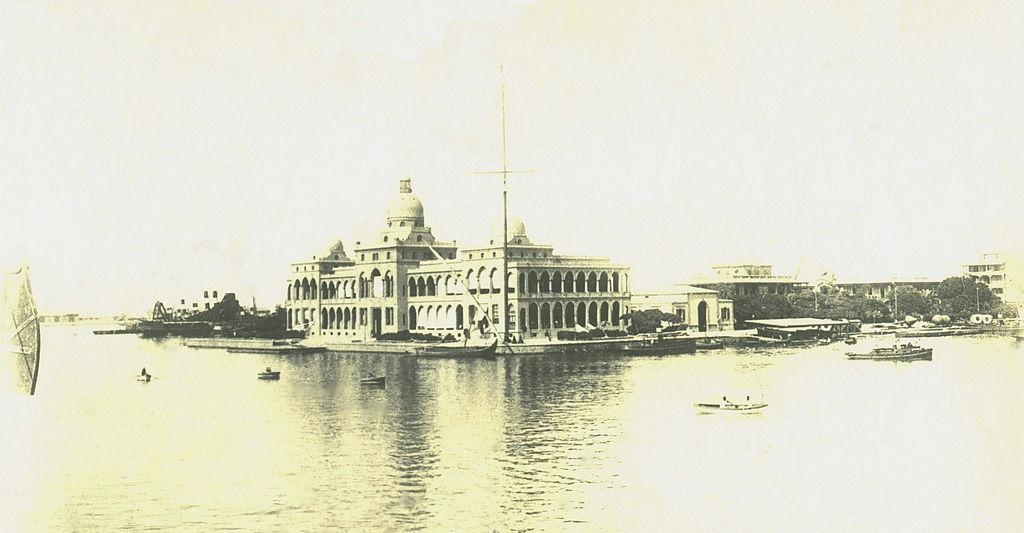 المقر المحلي لشركة قناة السويس في بورسعيد عام 1900