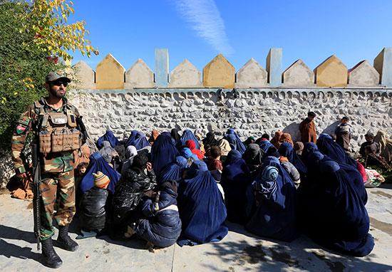 سيدات-داعش-والأمن-الأفغانى