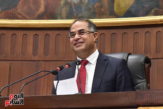 اجتماعات اللجنة البرلمانية لمناقشة أزمة الأمطار (2)