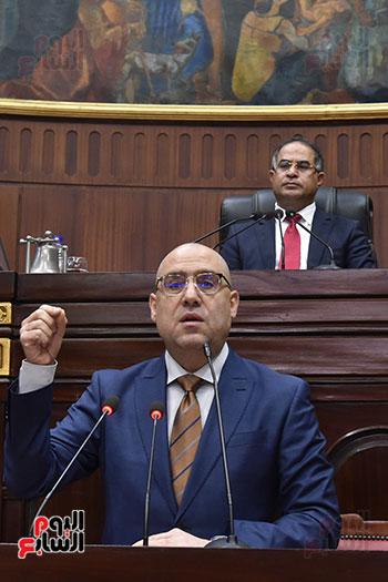 اجتماعات اللجنة البرلمانية لمناقشة أزمة الأمطار (24)