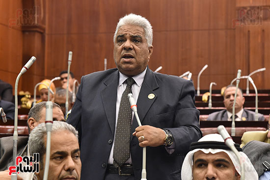 اجتماعات اللجنة البرلمانية لمناقشة أزمة الأمطار (15)