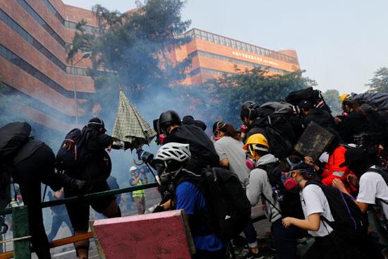 متظاهرو-هونج-كونج