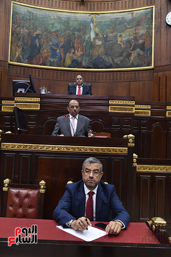 اجتماعات اللجنة البرلمانية لمناقشة أزمة الأمطار (20)