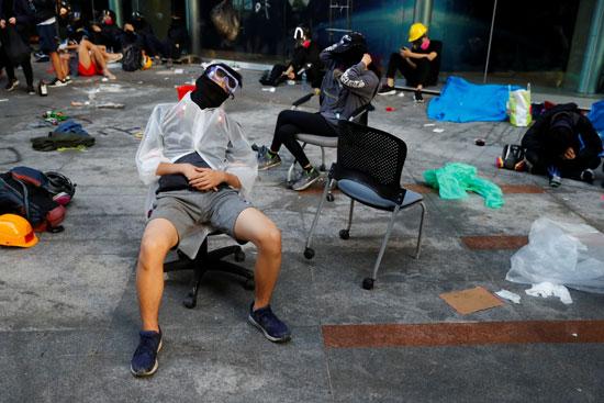 مخاوف-من-استمرار-العنف-فى-شوارع-هونج-كونج