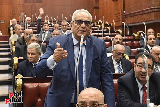 اجتماعات اللجنة البرلمانية لمناقشة أزمة الأمطار (7)