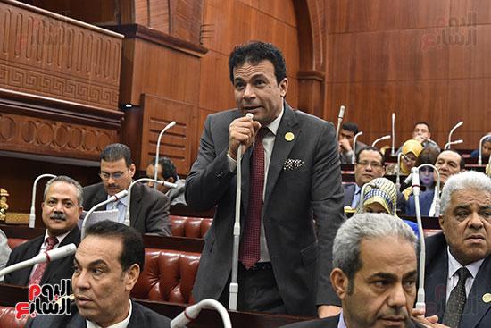 اجتماعات اللجنة البرلمانية لمناقشة أزمة الأمطار (8)
